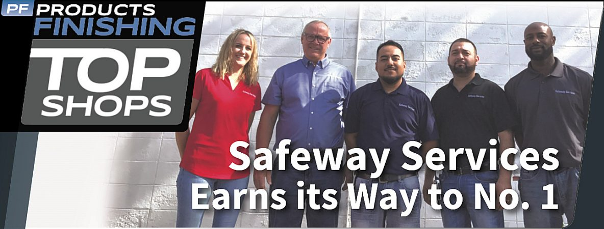 Products Finishing magazine names Safeway Services of Rockford Inc